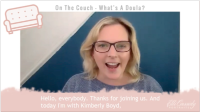 On The Couch…What's A Doula?