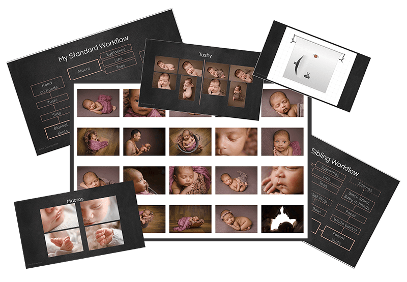 newborn workflow photography training article