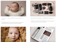 newborn photography blog